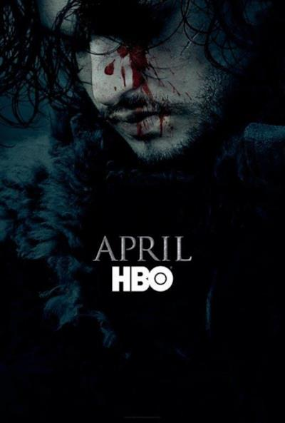 Il primo poster ufficiale di Game of Thrones 6 con Jon Snow