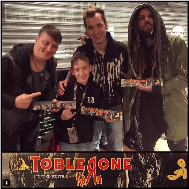 La special edition del Toblerone dei Korn