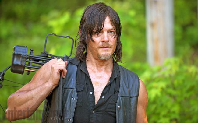 Daryl nella sesta stagione di The Walking Dead