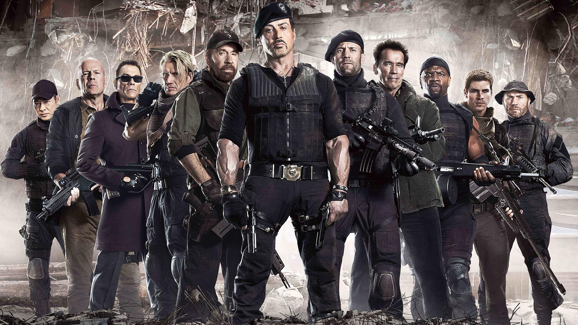 Il cast dei Mercenari 2