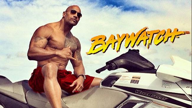 The Rock si prepara a diventare un bagnino di Baywatch