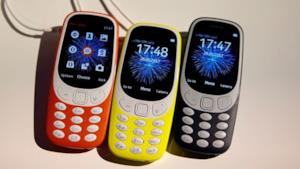 Tre nuovi Nokia 3310