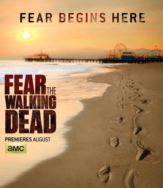 Il banner del Comic-Con di Fear the Walking Dead