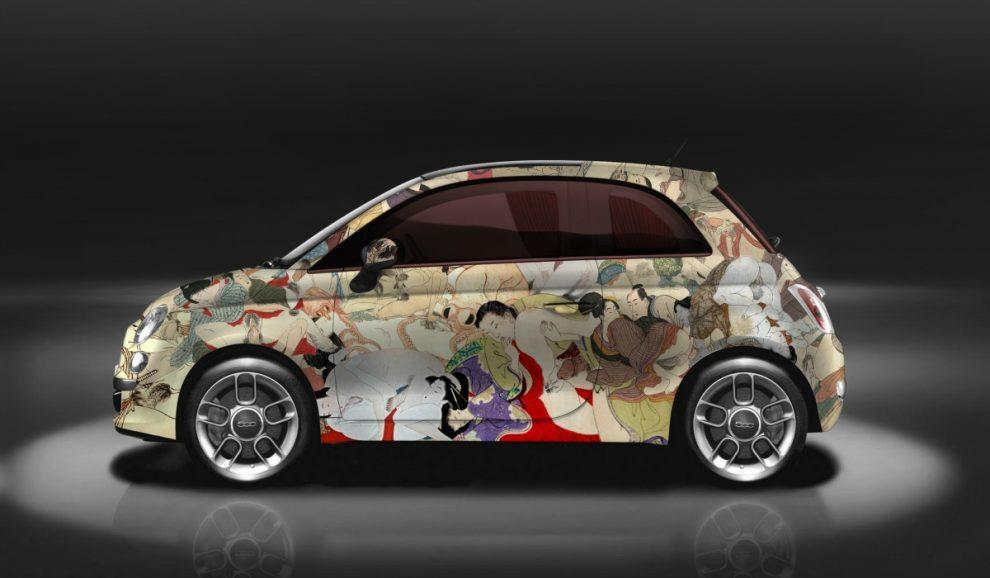 La Fiat 500 kamasutra di Garage Italia Customs