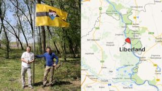 La nuova nazione del Liberland e la sua bandiera ufficiale