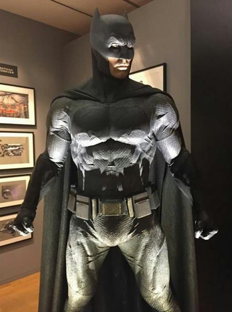 Il costume di Batman in Dawn of Justice