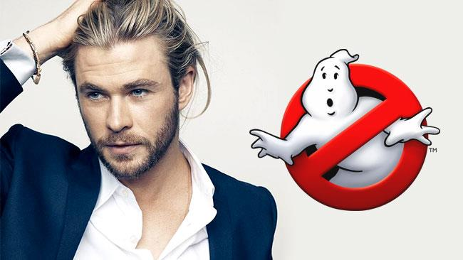 Chris Hemsworth passa dagli Avengers ai Ghostbusters