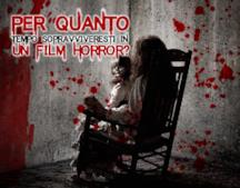 Per quanto tempo sopravviveresti in un film horror?