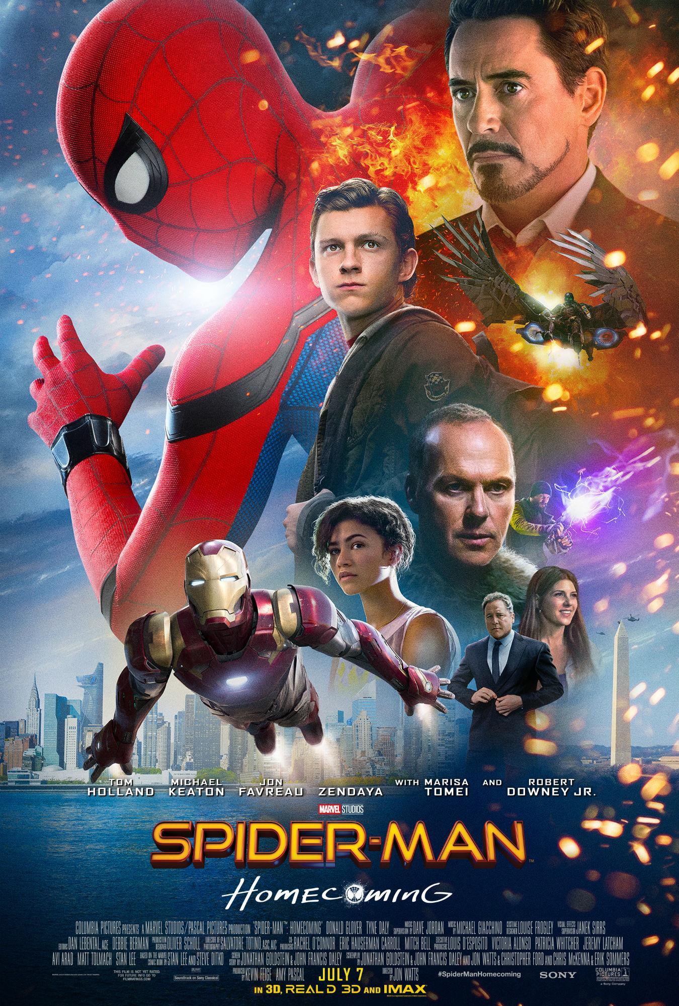 Poster di Spider-Man: Homecoming