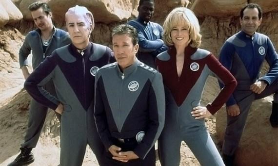 Il cast di Galaxy Quest