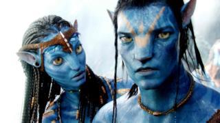 Due dei personaggi del film Avatar