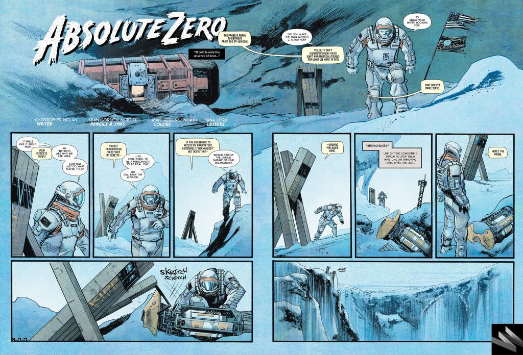 Anteprima del fumetto Absolute Zero