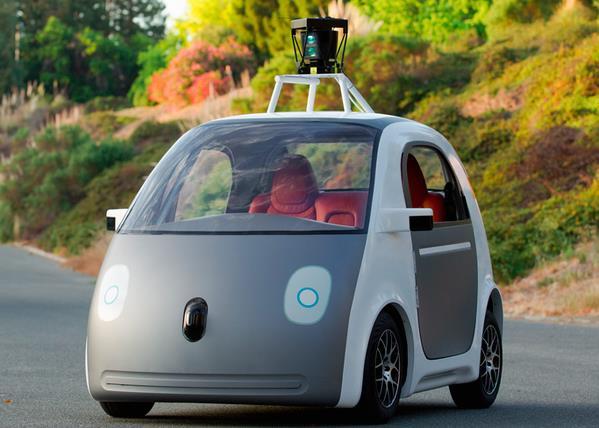 Google car, il prototipo