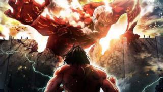 Un gigante, in una scena dell'anime