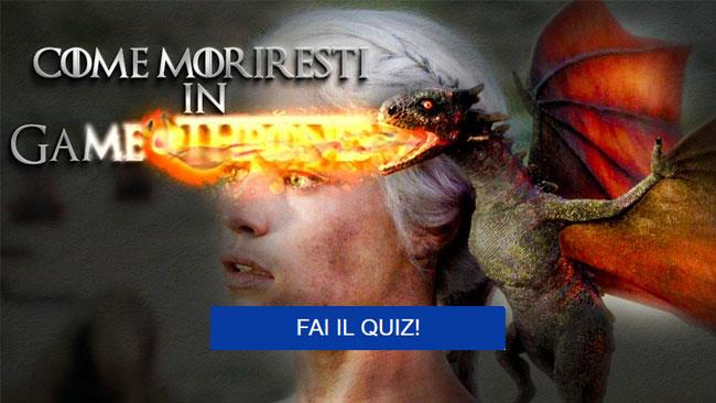 Game of Thrones in streaming - il quiz