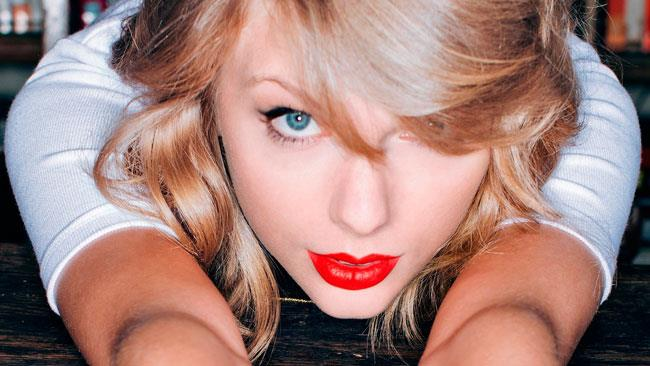 La cantante Taylor Swift
