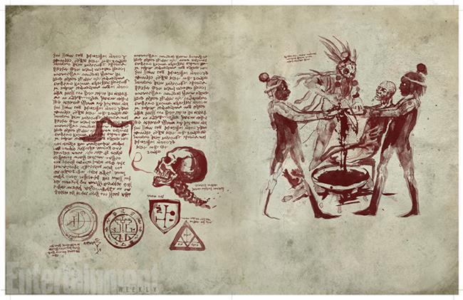 Primo sguardo al Necronomicon Ex-Mortis di Ash vs Evil Dead