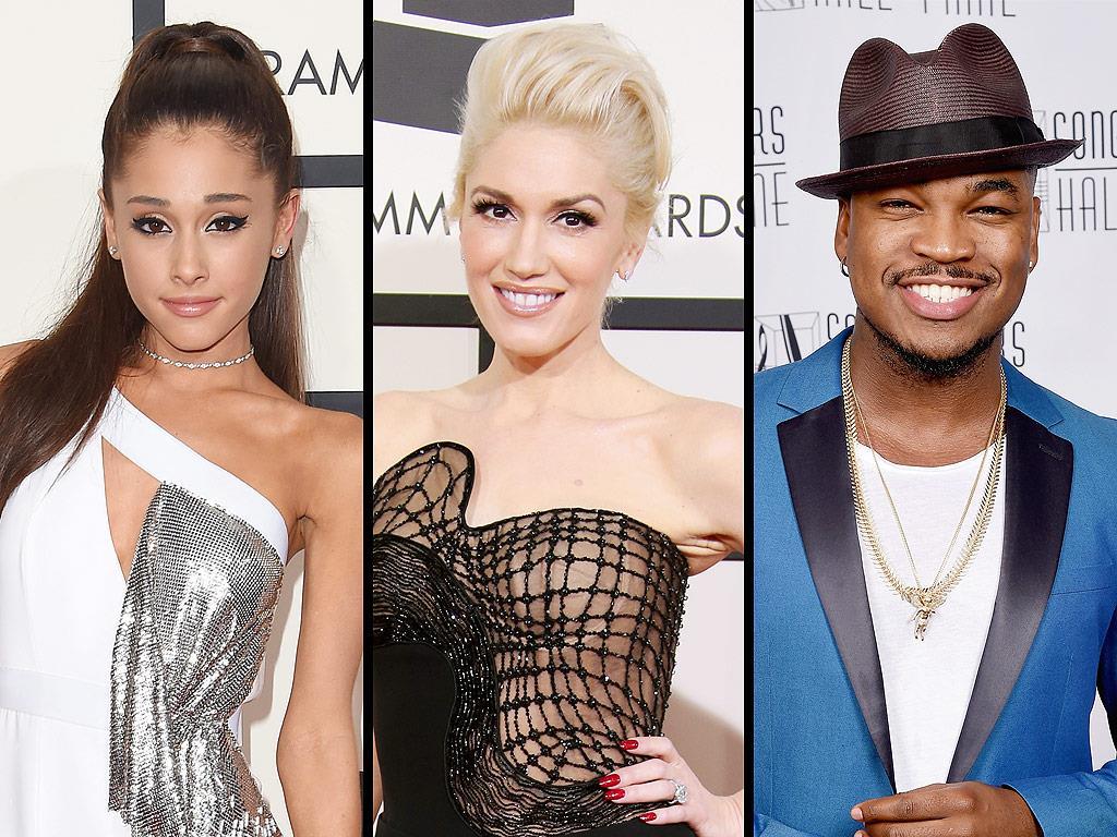 tre interpreti della versione americana: Ariana Grande, Gwen Stefani e Ne-Yo