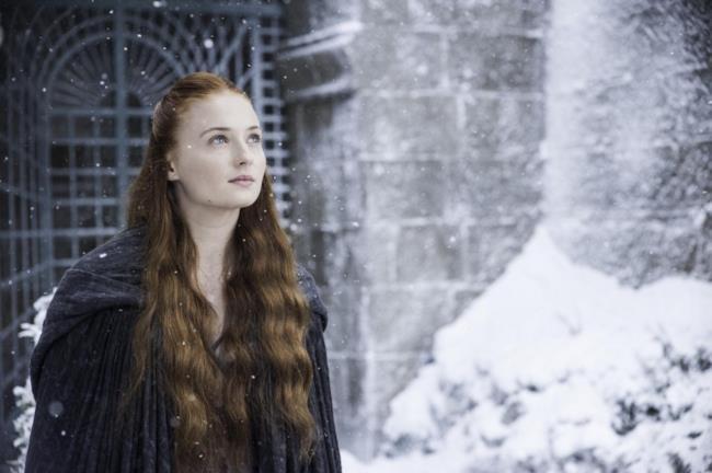 Sansa Stark nella serie TV di Game of Thrones