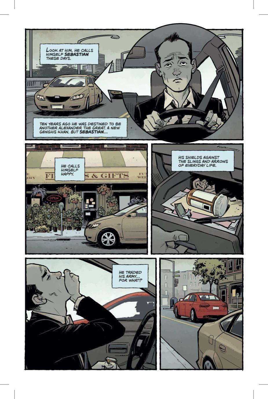 Fight Club 2, prima pagina del fumetto