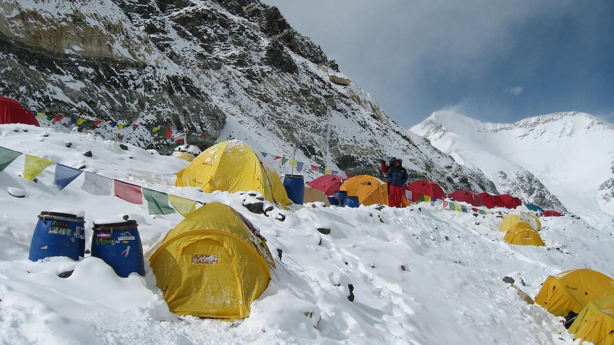 Campo del Monte Everest