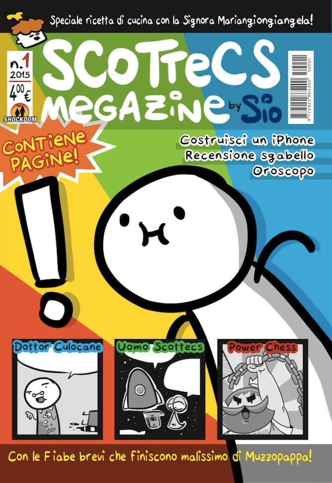 La copertina di Scottecs Magazine 1