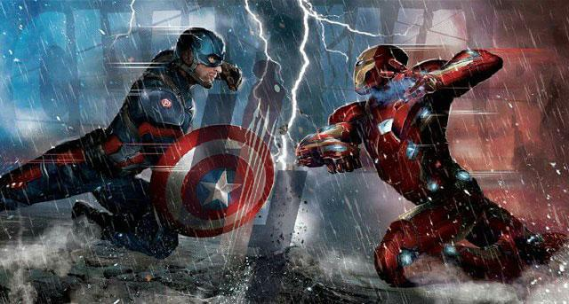 La prima immagine di Capitan America e Iron Man in Civil War