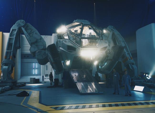 Il Moon Tug, il nuovo veicolo a tecnologia ibrida