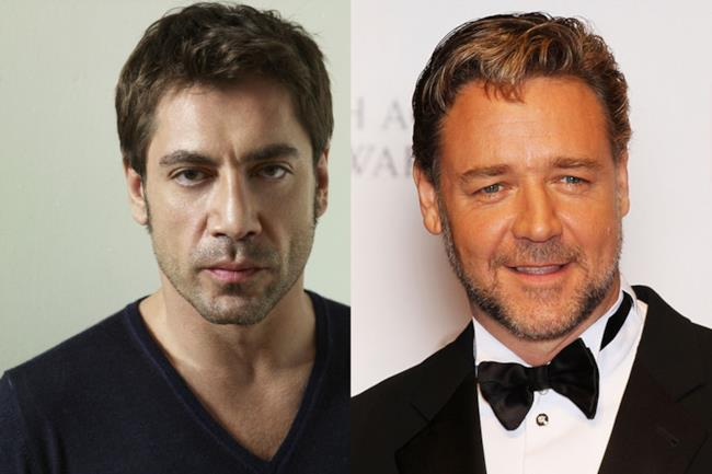 Javier Cardem e Russell Crowe potrebbero prendere parte ai film della Torre Nera