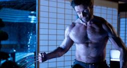 Hugh Jackman nel ruolo di Wolverine