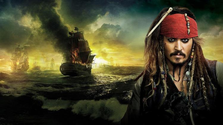 Jack Sparrow in un'immagine promozionale di Pirati dei Caraibi