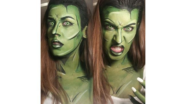 She-Hulk Make up