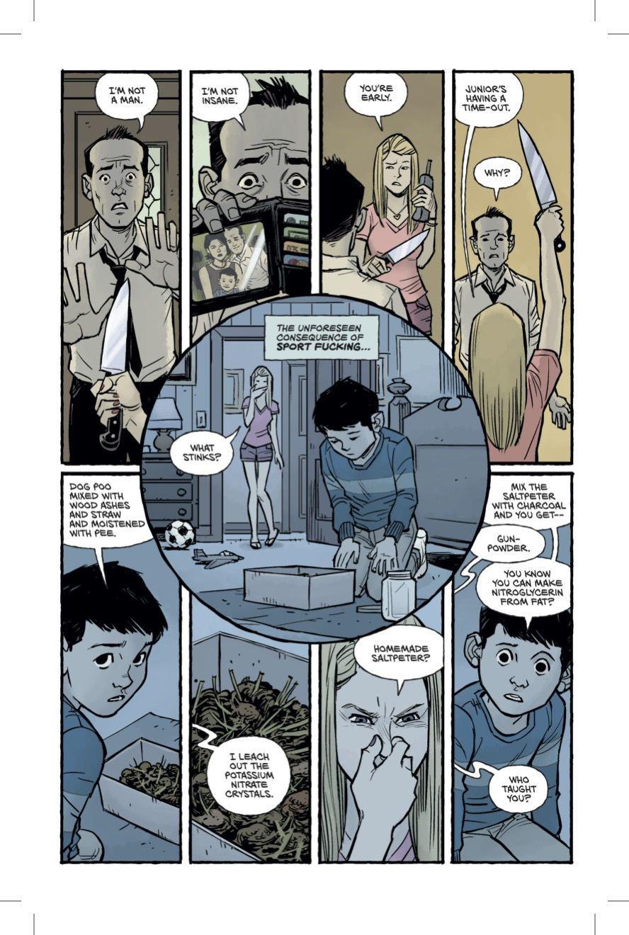 terza pagina del fumetto Fight Club 2