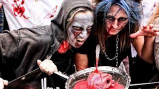 Gli zombie all'edizione 2014 della parata milanese