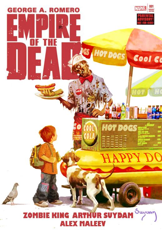 Empire of the Dead di George Romero diventerà una serie TV