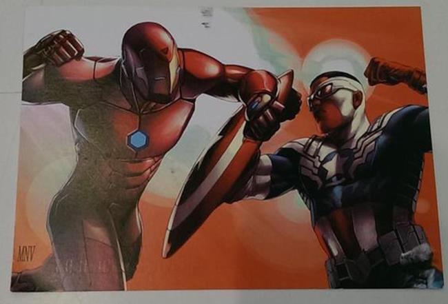 Iron Man contro Capitan America (Sam Wilson) in un teaser si Civil War 2