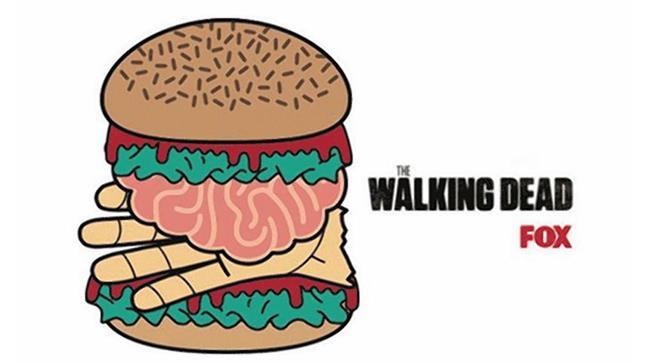 The Walking Dead lancia la sfida dell'hamburger