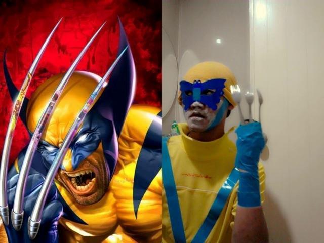 Cosplay del personaggio Wolverine