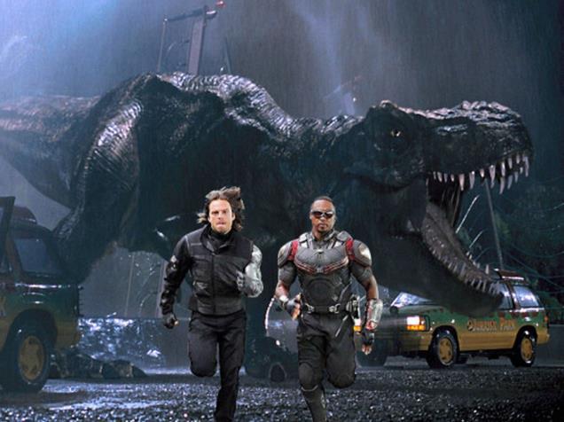 Winter Soldier e Falcon fuggono dagli SPOILER