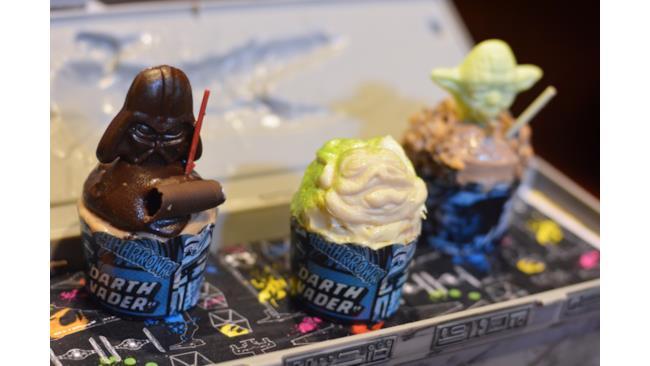 Trio di cupcake ispirati a Star Wars