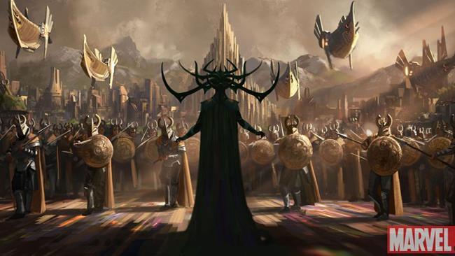 Marvel, Concept Art Thor: Ragnarok
