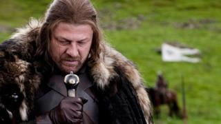 Il compianto Ned Stark in Game of Thrones