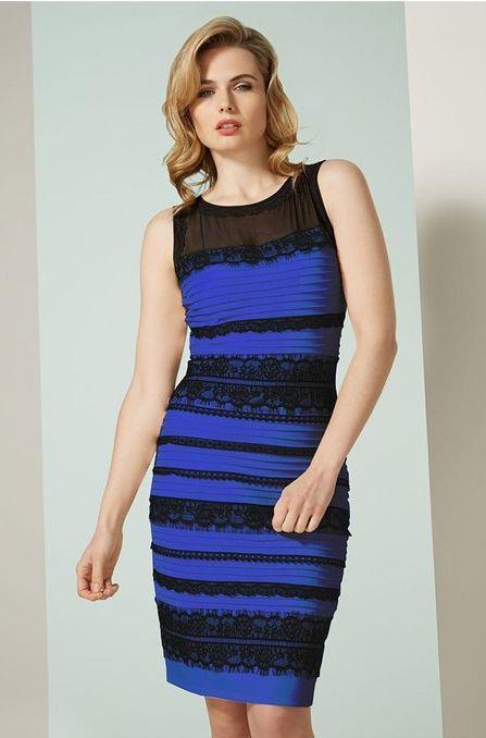 Il vestito che ha mandato in tilt Internet è nero e blu
