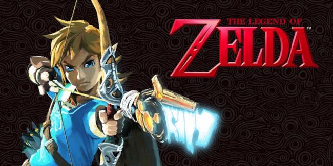 Link scocca la freccia in un'immagine di gioco