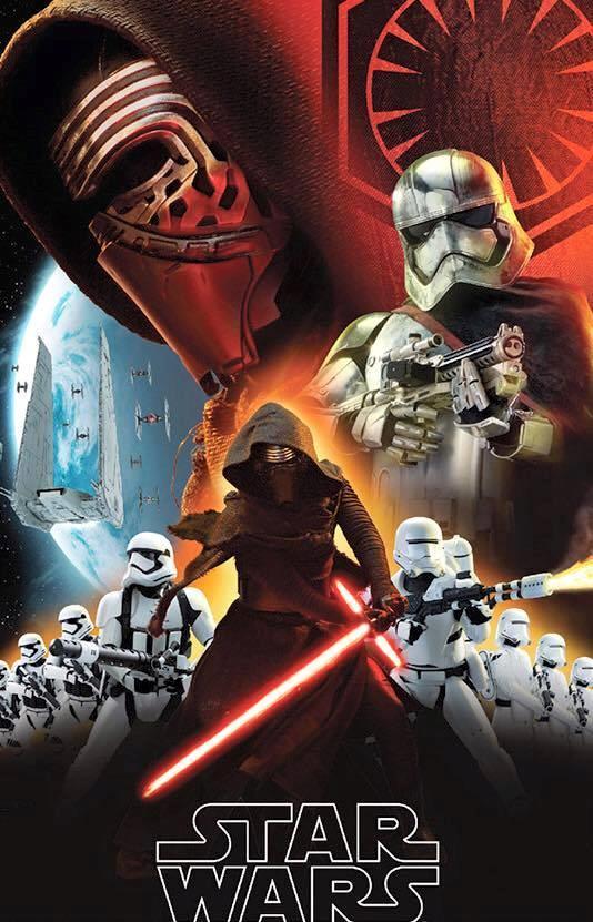 Poster di Star Wars: Il Risveglio della Forza con Kylo Ren