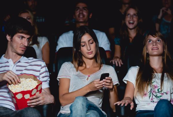 Smartphone al cinema