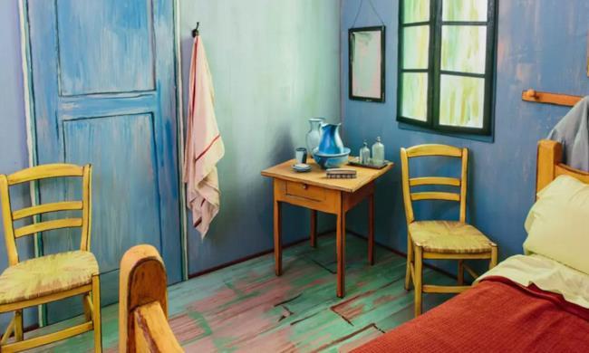 Van Gogh's Bedroom è in affitto su Airbnb