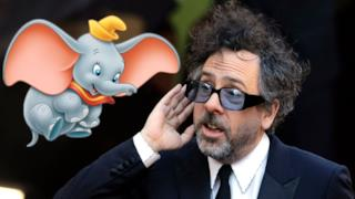 Tim Burton a Dumbo