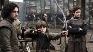I fratelli Stark in Game of Thrones