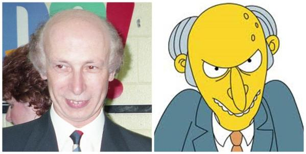 Mr.Burns dei Simpson